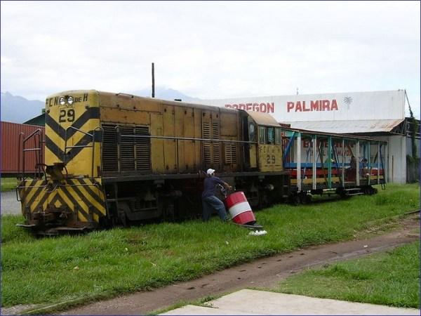 Honduras pociąg