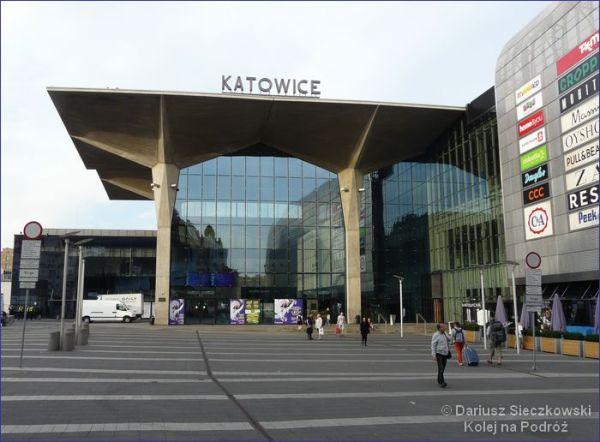 Dworzec w Katowicach