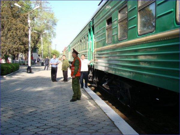 Kirgistan pociąg