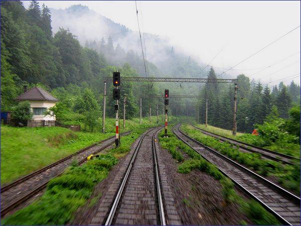 Rumunia linia kolejowa