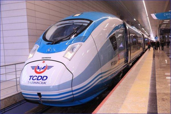 Turcja pociąg