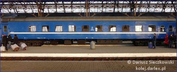 Białoruski wagon płackartny