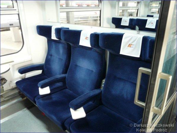 II klasa pociąg IC
