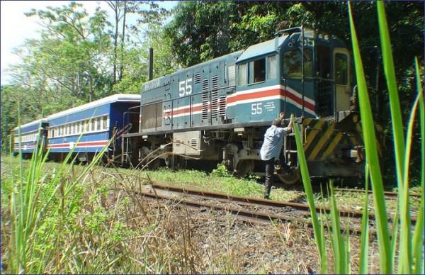Kostaryka pociąg