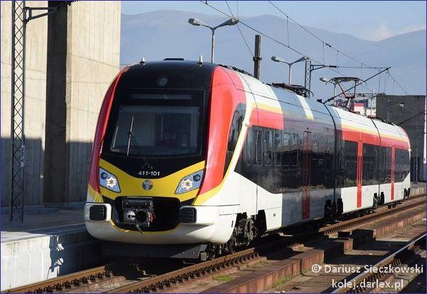 Macedonia pociąg