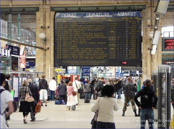 Paryż dworzec