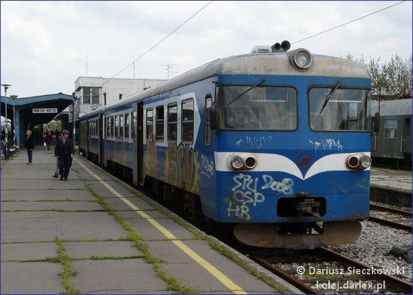 Pociąg Nowy Sad - Sombor