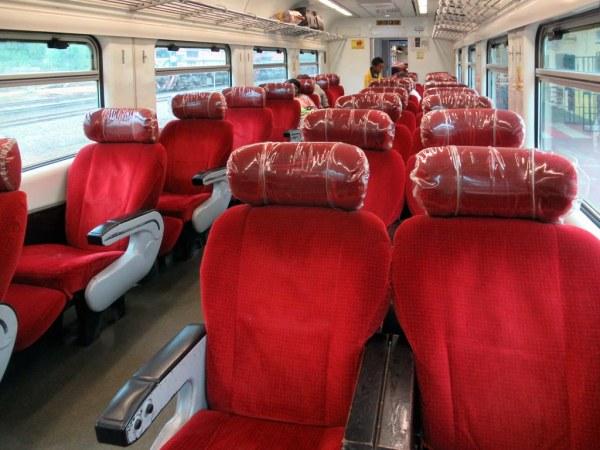 Gabon pociąg