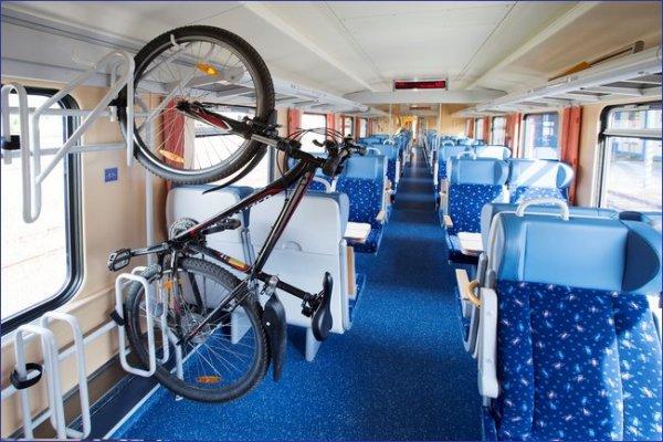 Wagon do przewozu rowerów