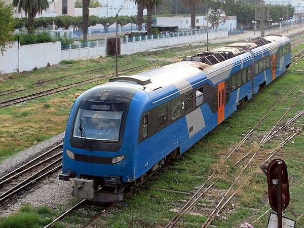 Pociąg Tunezja