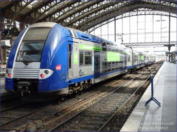 Francja pociąg