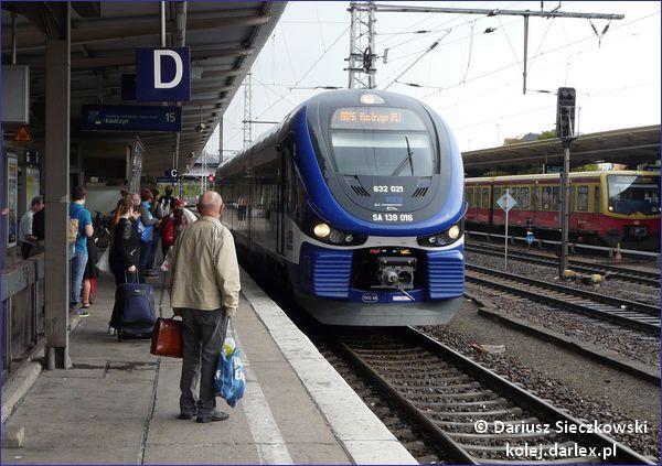 Pociąg Berlin-Lichtenberg - Kostrzyn