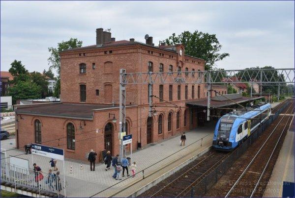 Pszczyna dworzec