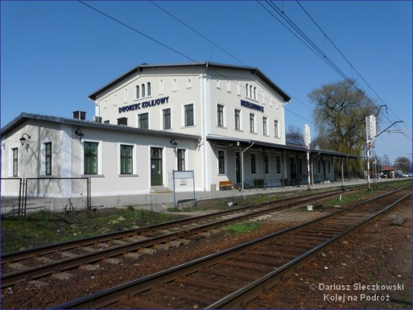 Krzeszowice dworzec