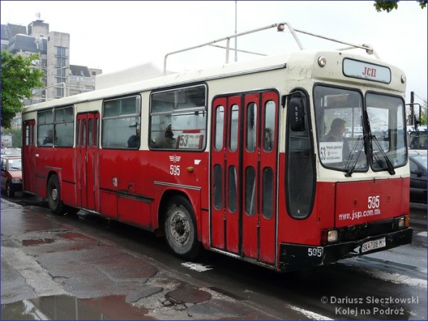 Autobus w Skopje