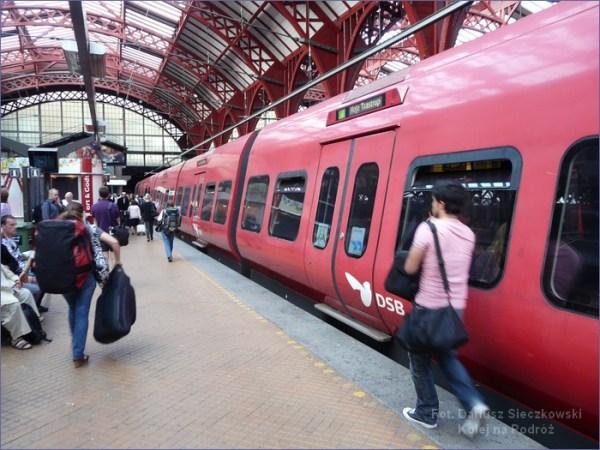Kopenhaga pociąg