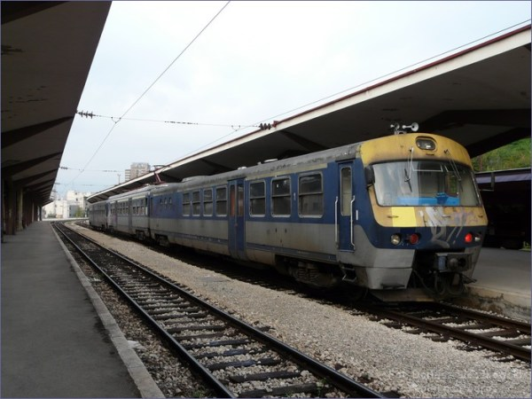 Kolej w Bośni - pociąg