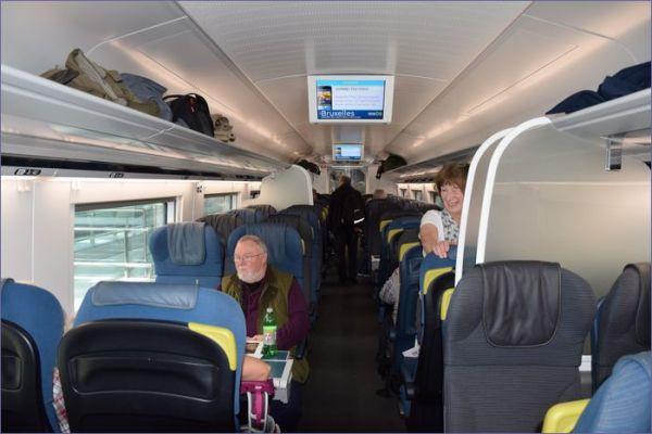 Eurostar wnętrze