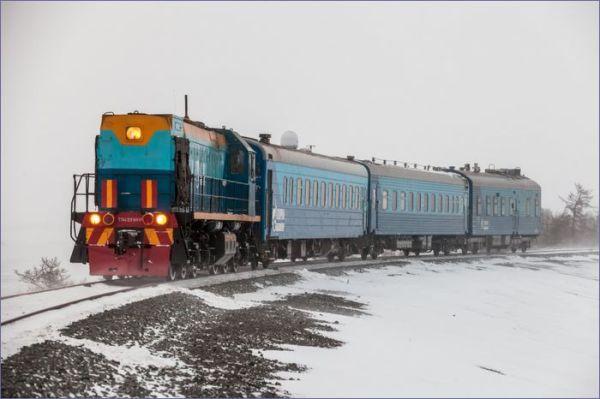 Pociąg Obskaja - Bowanienkowo