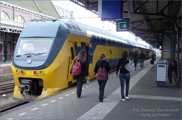 Holandia pociąg