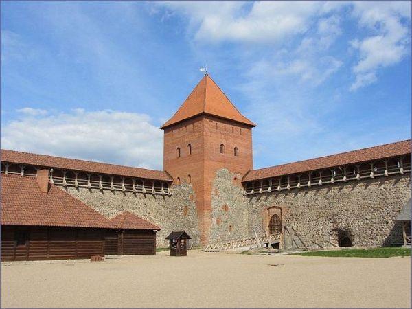 Największe atrakcje Białorusi - Lida