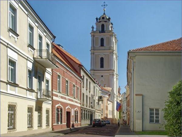 Największe atrakcje Litwy - Wilno