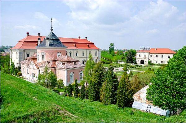 Ukraina zamek - Złoczów