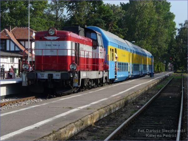 Pociąg do Gdyni