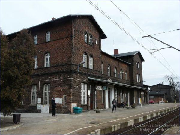 Pleszew dworzec