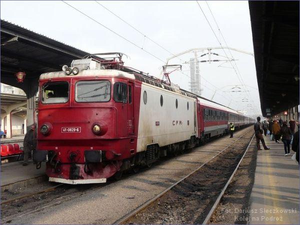 Rumuński pociąg