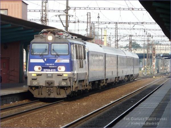 Pociąg do Pragi
