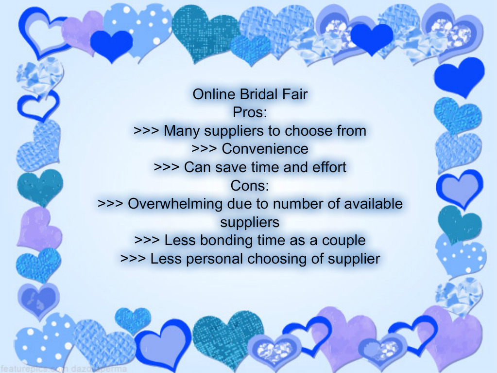 Bridal fair for couples in Laguna,Batangas,Cavite,Quezon or Manila area.Wedding Planning done by wedding planner