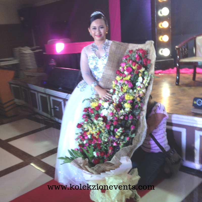 Debut bouquet batangas,debut package in Batangas