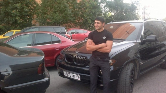BMW X5 Мурада Касымова