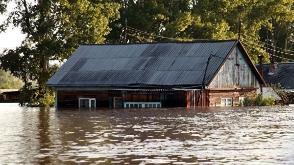 Наводнение в Иркутске