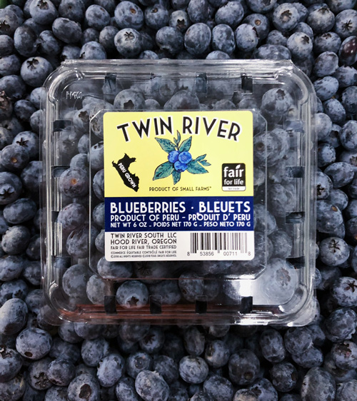 peru Blueberries