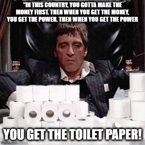 Pandemic Toilet Paper Al Pacino