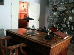 Oskar Schindler egykori gyárában levő irodája