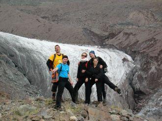 A gleccser alján még nem érezzük a magassággal járó nehézségeket