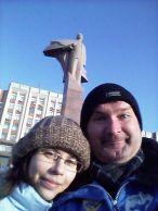 A transznisztriai parlamentre Lenin ügyel. Mi csak átutazóban vagyunk...