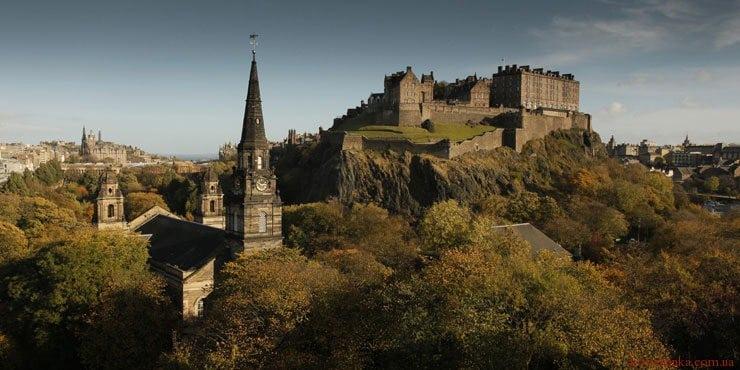 Единбурзький замок, Единбург, Шотландія