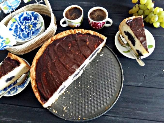 Сирний пиріг з маком. Рецепт приготування