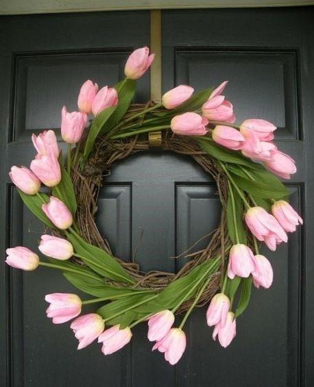 Весняна флористика. Фото-ідеї декору з тюльпанами (3)