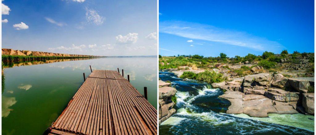 Невідомі водойми України: 14 озер, водоспадів, каньйонів і заток
