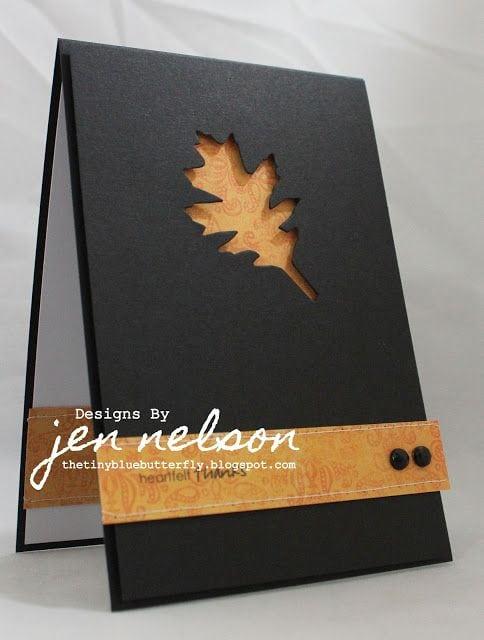 Осінні листівки своїми руками (60 цікавих ідей з фото) (12)