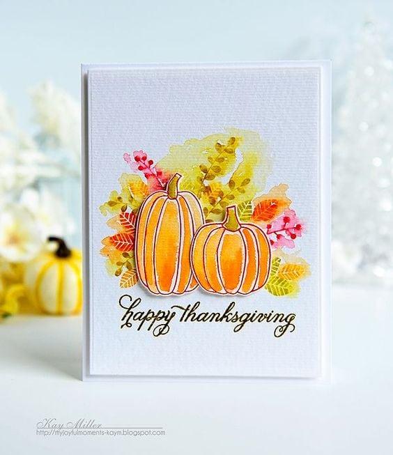Осінні листівки своїми руками (60 цікавих ідей з фото) (30)
