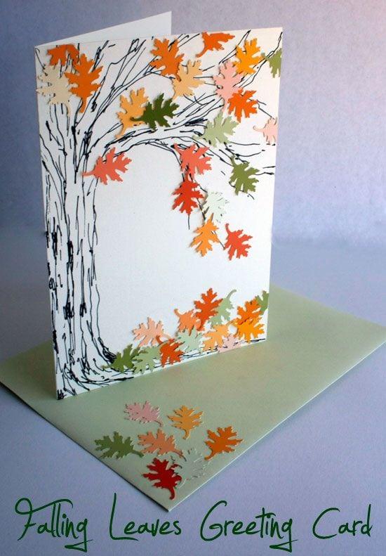 Осінні листівки своїми руками (60 цікавих ідей з фото) (35)