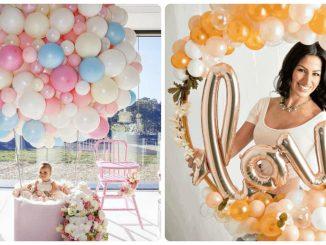 Як прикрасити свято повітряними кульками: 60 фото-ідей