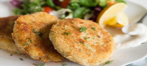 Картопляно-рибні котлети. Пісні