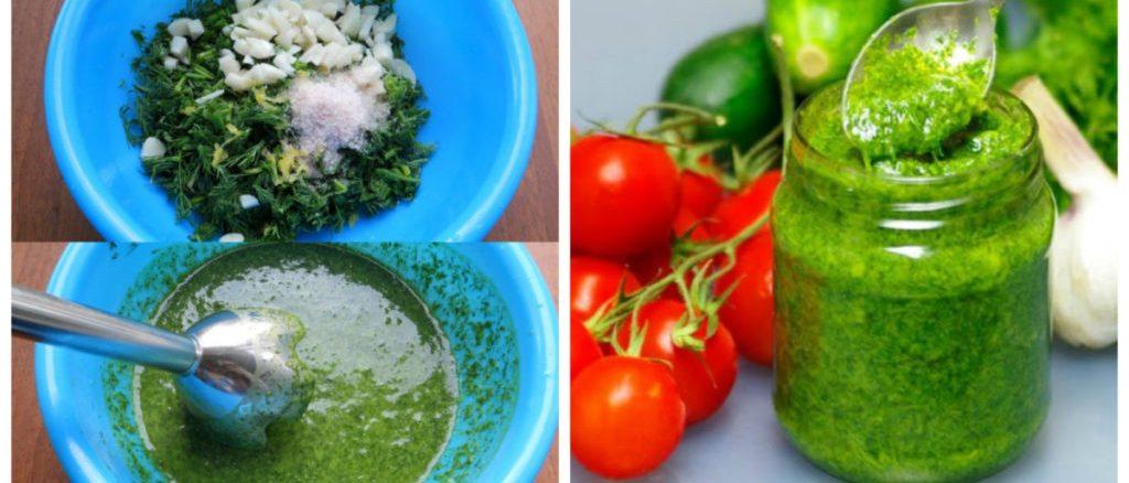 РЕЦЕПТ: Соус з кропу: тепер улюблена ароматна зелень доступна цілий рік